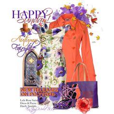 """HAPPY SUNDAY!!!: ""Autumn Fairytale"""" by enjoyzworld on Polyvore"