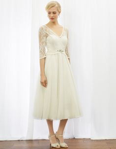 The 1950s Frock - Monsoon Wedding Dresses 2016 – Inspiration from the Past - EverAfterGuide