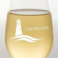 Lighthouse on the Water Stemless Wine Glass by 121 Personal Gifts. $14.95. Stemless wine glasses are ideal for family style dining and intimate dining rooms. The sleek styling serves a lovely glass of wine or doubles as a water glass. The stemless design makes it sure and steady on the table. Holds 15oz.