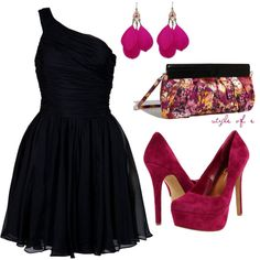 Magenta, created by styleofe on Polyvore