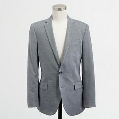 Factory Thompson suit jacket with double vent in oxford cloth - Thompson Suiting - FactoryMen's FactoryMen_Shop_By_Category - J.Crew Factory