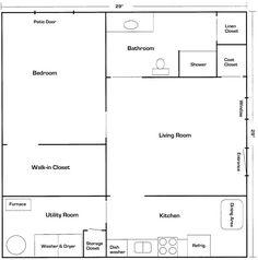 Mother in law suite Architecture Pinterest Pocket doors