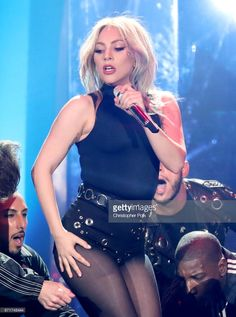 News Photo : Lady Gaga performs on the Coachella Stage during...