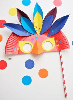 Masque de Carnaval à fabriquer