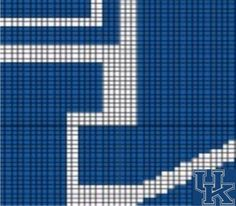 Kentucky Wildcats (D12) via Loopaghans Custom Crochet. Click on the image to see more!