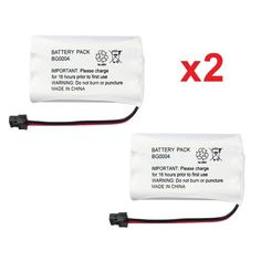 2 Fenzer Rechargeable Cordless Phone Batteries for Uniden BT-1005 BT1005 Cordless Telephone Battery Replacement Packs by Fenzer. $6.98. For Again & Again: STB 961, STB961, AT: 3095, 3470, Battery Biz: B-7018, Bell South: TL6502, TL-6502, Empire: CPH-488B, CPH488B, Energizer: ER-P512, ERP512, GE: TL96402, TL26402, TL86402, TL-96402, TL-26402, TL-86402, Hi Capacity: B7018, Interstate: TEL0375, Lenmar: CBC446, CBC-446, Radio Shack: TAD-3704, TAD-3815, TAD-3872, TAD-3...