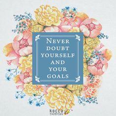 Kormore.com / Daily quotes: Never doubt yourself and your goals. ▶한국콘텐츠진흥원 ▶KOCCA ▶Korean Content ▶KoreanContent ▶KORMORE