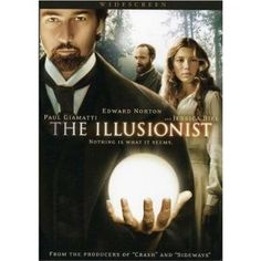 The Illusionist (Widescreen Edition) -- DVD - Just not my thing. I hate sepia movies and I have to admit that I didn't quite get it. **1/2*