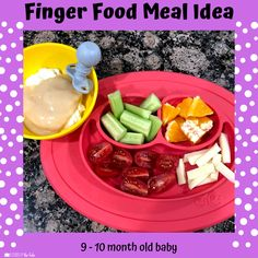 Babies Eating at 10 Months - Lessons By The Lake 10 Months Baby Food, 10 Month Old Baby Food, Baby Snacks, Baby Meals, Healthy Baby Food, Food Baby, Baby Meal Plan, Whole Wheat Waffles, Baby Solid Food