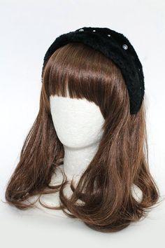 Shortcake Poodle: 2012 Limited Edition Bonnet Style Fur Headband