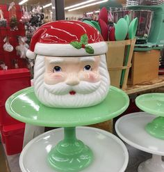 SANTA COOKIE JAR.