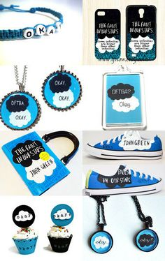 The Fault in Our Stars by John Green by Barbara on Etsy--Pinned with TreasuryPin.com.        ADDISON!!!!!!