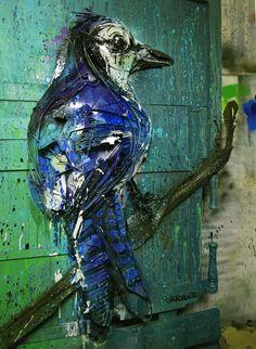 Bordalo II - 2016 #StreetArt #TrashInstallation