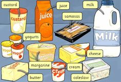 Dairy products you can buy at the supermarket or grocery store
