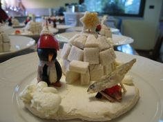 """Natale 2008  Antipasto """"Villaggio dei pinguini"""""""