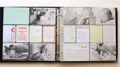 itsmeamanda : our project life: Introducing : Project Life Baby Edition for Him Project Life Scrapbook, Project Life Layouts, Baby Scrapbook, Scrapbook Pages, Pocket Scrapbooking, Scrapbooking Layouts, Project Life Baby, Baby Album, Journal Cards