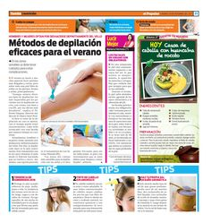Agradecemos al Diario El Popular por la entrevista al Dr. Edwin Vásquez de la Clínica Saint Paul, quien dio algunos tips e información sobre la depilación para este verano.