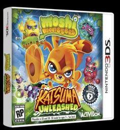 Win a Nintendo 3DS Moshi Monster Katsuma Unleashed Game Ends 12/19