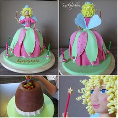 Lillifee Cake - Princess cake for a little girl with a surprise inside.