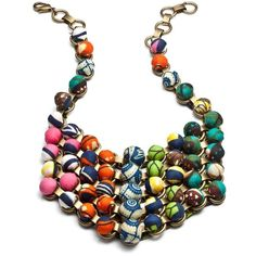 DANNIJO Gahiji Necklaces ($277) found on Polyvore