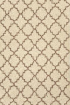 Dash and Albert Plain Tin Ivory wool hooked rug {if I'm going with blue curtains, perhaps a more neutral rug instead of more blue?  plus, then I'm not tied to the blue forever.}  Love this pattern!