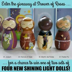 Shower of Roses: New Shining Light Dolls {and a Giveaway!}