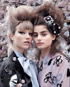 """""""Tudo que Brilha"""" é tema das tendências de Alta-Costura na Vogue US junho 2016"""