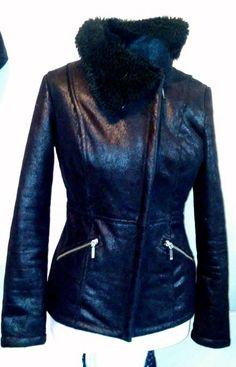 #tumbrl#instagram#avito#ebay#yandex      MOHITO Women faux fur sheepskin  zipper closure coat size M #MOHITO #BasicJacket
