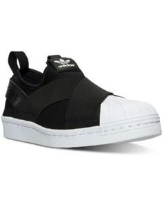 adidas Women's Superstar Slip-On Casual Sneakers from Finish Line | macys.com