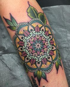 Mandala tattoos vary greatly in style form and placement. I have found 109 absolutely stunning mind blowing and breath taking Mandala tattoos that will leave you drooling for more. Hand Tattoos, Love Tattoos, Tattoo You, Beautiful Tattoos, New Tattoos, Body Art Tattoos, Tatoos, Tattoo Quotes, Colorful Mandala Tattoo