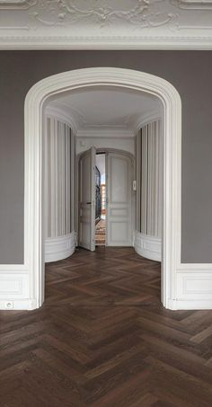 Kährs is a world-leading manufacturer of wood floors and vinyl floors which provides a complete flooring solutions for your home. Flooring, House Design, Dark Interiors, Living Room Wood Floor, Mahogany Flooring, Herringbone Wood Floor, Herringbone Wood, House Exterior, Floor Design