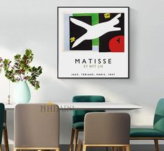 Canvas Poster, Canvas Wall Art, Vintage Vogue, Fashion Vintage, Modern Fashion, Types Of Art Styles, Pop Art Posters, Nordic Art, Matisse