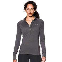 Women's Under Armour Tech 1/2 Zip Top, Size: Medium, Grey Other