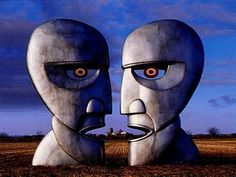 Pink Floyd – The Division Bell **Album cover art** is often considered to be one of the Cd Album Covers, Greatest Album Covers, Iconic Album Covers, Classic Album Covers, Music Covers, Pink Floyd Album Covers, Pink Floyd Cover, Discos Pink Floyd, Lps