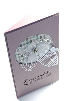 Heute Abend habe ich noch ein paar Kärtchen für Dich aus den Materialien des Januar Kits von Uschi:    Papier: Reprint DP & Kartenrohling vo...