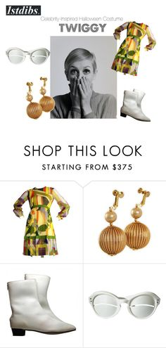 """""""Celebrity-Inspired Halloween Costume"""" by shop1stdibs ❤ liked on Polyvore"""