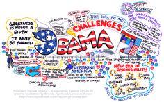 Loosetooth.com > Brandy Agerbeck's Graphic Facilitation Work > Obama's Inauguration Speech