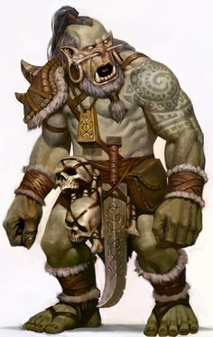 Orc Common Green