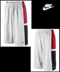 150595266a47 MEN S NIKE JORDAN JUMPMAN BASELINE BASKETBALL SHORTS LG XL 2XL 439552 NWT   Nike  Shorts