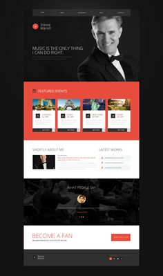 Website Theme , Personal Page
