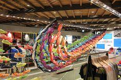 Nike Harajuku – Lunarglide  3 Installation