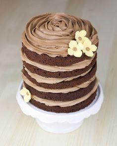 .Layer cake de chocolate y nutella