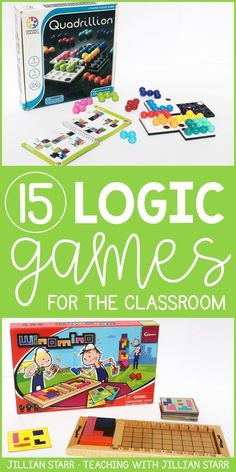 15 Logic Games for the Classroom