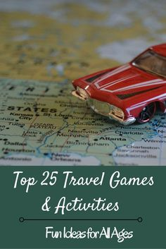 Fun travel games and activities to pass the time when traveling, whether by car or plane. Categorized by age group, from toddlers to adults, plus fun activities for the whole family.