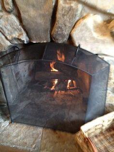 sweet fireplace screen