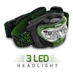 Get superior illumination for any job or adventure Product Information Whether you're on the trail, at the campsite, or doing odd jobs around the house, get superior illumination with the Energizer TrailFinder LED Headlamp. This headlamp provides up to 30 lumens of white, bright light that can reach a distance of up to 23 m, making it ideal for just about any job! The headlight can pivot up to 90-degrees, allowing you to point light exactly where you need it