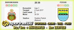 Prediksi Skor Bola Bhayangkara vs Persib 4 Jun 2017 Liga 1 di Stadion Patriot (Bekasi) pada hari Minggu jam 20:30 WIB live di TV One