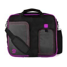 Purple Pindar Messenger Bag for HP ElitePad 1000 / ElitePad 900 10.1' Tablets ** Click image to review more details.