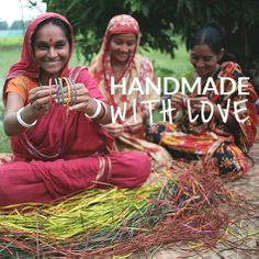 ~Handmade with Love~ There's a beauty in #fairtrade products that a machine can never create. #fairtradefashion #fashionfriday