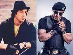 Since the many of the famous faces in the entertainment industry have changed. This begs the question: Just where are these most famous stars now? Sylvester Stallone, Friends Change, Stars Then And Now, Hollywood, The Expendables, Young Actors, Famous Faces, S Star, The Man
